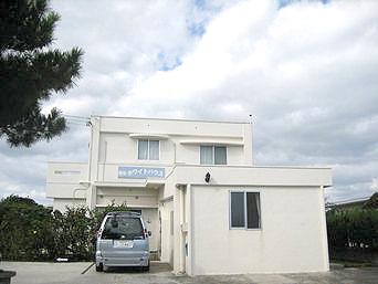 伊江島のホワイトハウス