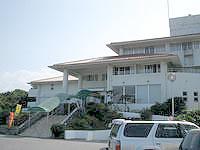 浜比嘉島のホテル浜比嘉島リゾート/マリンリゾートホテル浜比嘉 - ホテルは高台にあります