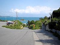 浜比嘉島のホテル浜比嘉島リゾート/マリンリゾートホテル浜比嘉 - ホテル前の駐車場からの景色