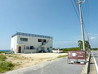 伊良部島のソラニワホテル&カフェ/soraniwa hotel and caf? - 伊良部島の南側の海岸線にあります