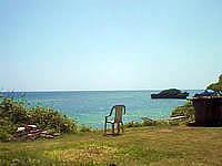 西表島の民宿あけぼの館 - まさに海まですぐです