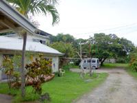 西表島の農家民宿マナ/MANA/マナの店/マナパン - おそらく奥の奥の建物だと思います