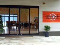 西表島の民宿マリウド本館/アネックス新館 - 新館食堂は景色抜群かも?