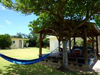 西表島のまるま荘 - とにかく心地の良い庭がある宿