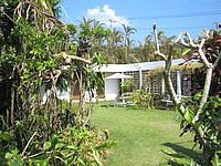 西表島のペンションイリオモテ - 小さいですがのんびりできそうな庭です - 小さいですがのんびりできそうな庭です