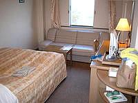 石垣島のホテルベストイン石垣島 - シングルルームでも広々しています