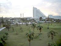 石垣島のホテルベストイン石垣島 - 部屋からは全日空のゴルフ場が一望