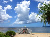 石垣島のフサキリゾートヴィレッジ - 桟橋的なものは台風で破損中?