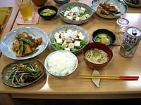 石垣島の民宿花城 - 食事は沖縄の素材&内地のミックス