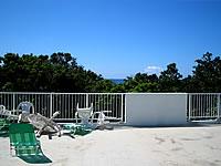石垣島の民宿花城 - 屋上は緑豊かな景色が望める