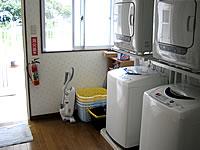 石垣島の民宿花城 - 洗濯機と乾燥機が自由に使えます