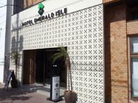 石垣島のホテルエメラルドアイル石垣島 - 見た目は入口のみ改装