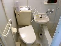 石垣島のアイランド@ISHIGAKI - 3点ユニットのトイレが洗浄便座に!
