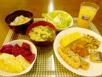 石垣島のアイランド@ISHIGAKI - 食事は毎日ほぼ同じで飽きる