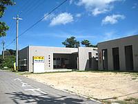 石垣島の民宿明石 - 左が食堂、右が民宿