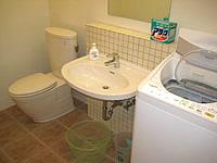 石垣島の民宿明石 - 洗濯乾燥機はとても便利