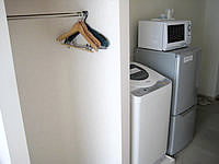 石垣島のピースアイランド石垣イン八島 - この洗濯機が騒音の原因!