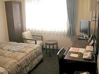 石垣島のホテルルートイングランティア石垣 - 東館の部屋は広めで快適
