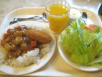 石垣島のホテルルートイングランティア石垣 - 朝食ビュッフェのカレーは嬉しかった