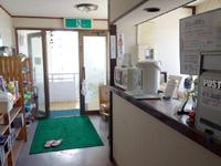 石垣島のすどまり館 - フロントにレンジとポット有り