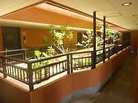 石垣島のホテルラッソ アビアンパナ石垣島(2014年ラッソ系列になって再開) - この中庭が良い感じだった