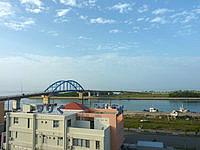 石垣島のホテルチューリップ石垣島 - 港側の部屋からの景色はなかなか良い