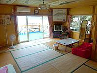 加計呂麻島の来々夏ハウス - まさにオーシャンフロント