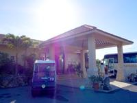 小浜島のホテルアラマンダ小浜島/ニラカナイ小浜島 - フロント棟はやや奥にある