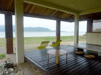 小浜島のゲストハウス パナパナ - この場所なら何時間でもぼぉーっとできます