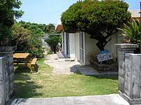 久高島の民宿にしめ - 良い雰囲気の庭がありました - 良い雰囲気の庭がありました