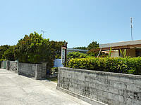久高島の民宿にしめ - こぢんまりしています