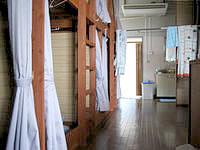 久米島のドミトリー球美 - ドミトリーはカプセルホテルのよう?