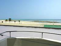 久米島の久米島イーフビーチホテル - 2階でも十二分に景色は望めます