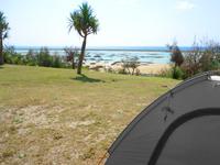 シンリ浜キャンプ場/シンリ浜海浜公園