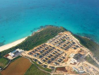 来間島のシーウッドリゾート来間島/来間島リゾートプロジェクト