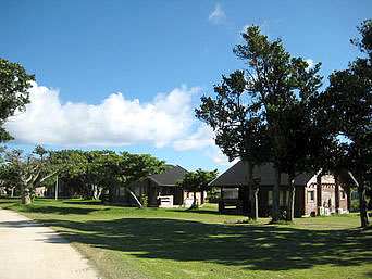 黒島の黒島マリンビレッジ(閉館)