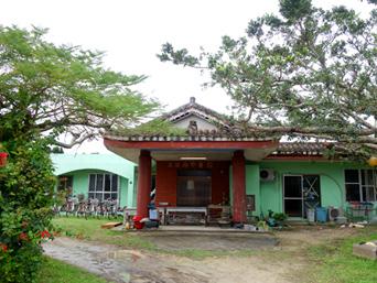 黒島の民宿みやき荘