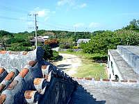 黒島の民宿みやき荘 - 屋根が本当に気持ちいいです