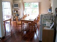 黒島の民宿なかた荘 - 食堂&ゆんたくルーム