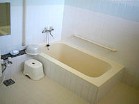 黒島の民宿なかた荘 - お風呂は清潔感あってキレイ