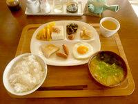 南大東島の民宿金城(閉館) - 朝食はこんな感じ