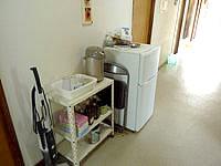 南大東島のプチホテルサザンクロス - 冷蔵庫やポットが共用である