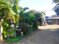 南大東島の月桃ムーンピーチ/民宿月桃/民泊の家ピットイン新城 - 入口は空港から向かって左側