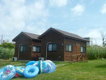 水納島の水納島ログハウス/マーメイド宿泊施設