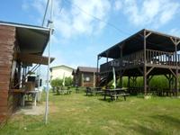 水納島の水納島ログハウス/マーメイド宿泊施設 - 最近BBQのお店が併設された