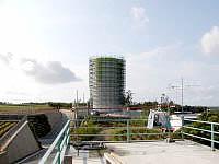 宮古島のペンション新城 - 目印の貯水塔