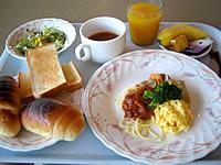 宮古島のマリンロッジ・マレア - 至って普通のシティホテルの朝食