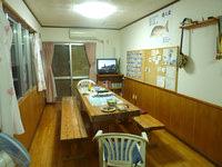 宮古島の民宿島人 - 1階は共用スペース