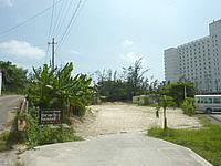 宮古島のビーチハウス宮古島 - やや分かりにくい市街地側からの入口