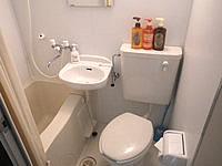 宮古島のstay&resort cafua/ウィークリー・マンスリー カフア - 水回りは3点ユニットで洗浄便座無し